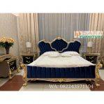 Set Tempat Tidur Mewah Mebel Jepara Terbaru DFJ-005